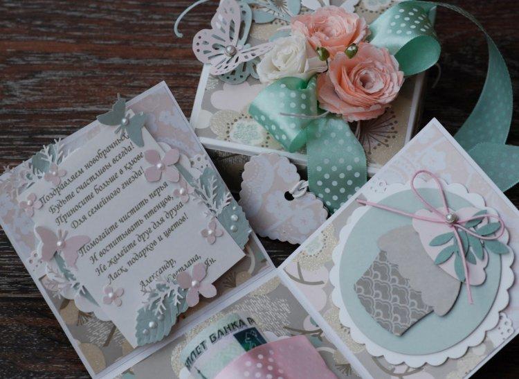 Как сделать подарок на свадьбу деньги оригинальным