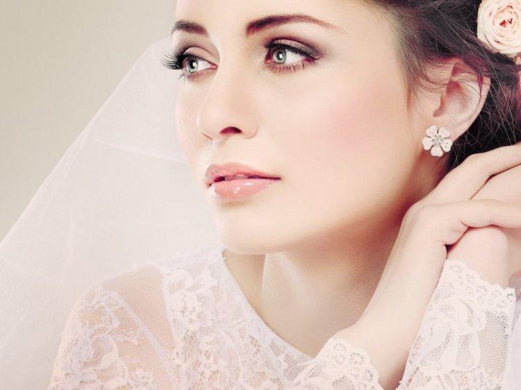Идеальный свадебный макияж для зеленых глаз