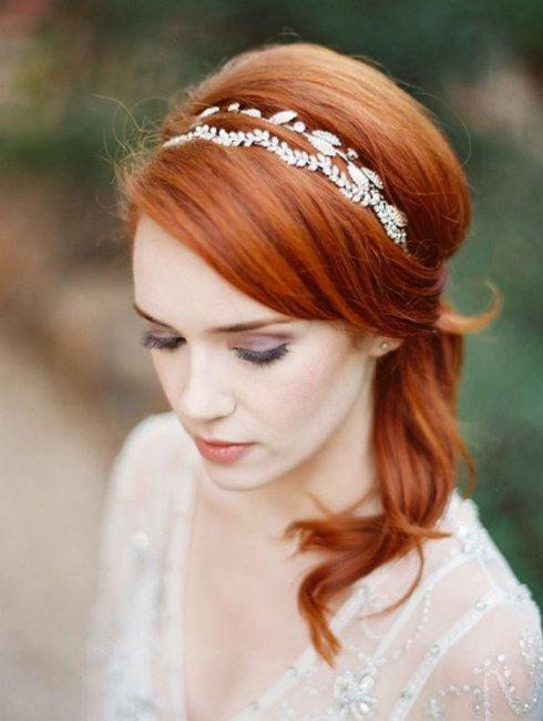 Свадебный макияж для зеленоглазых рыжих