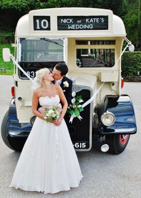 Оригинальный свадебный транспорт