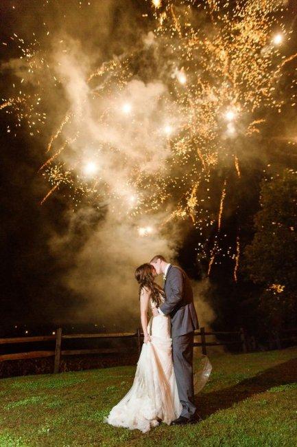 Кульминация свадебного банкета