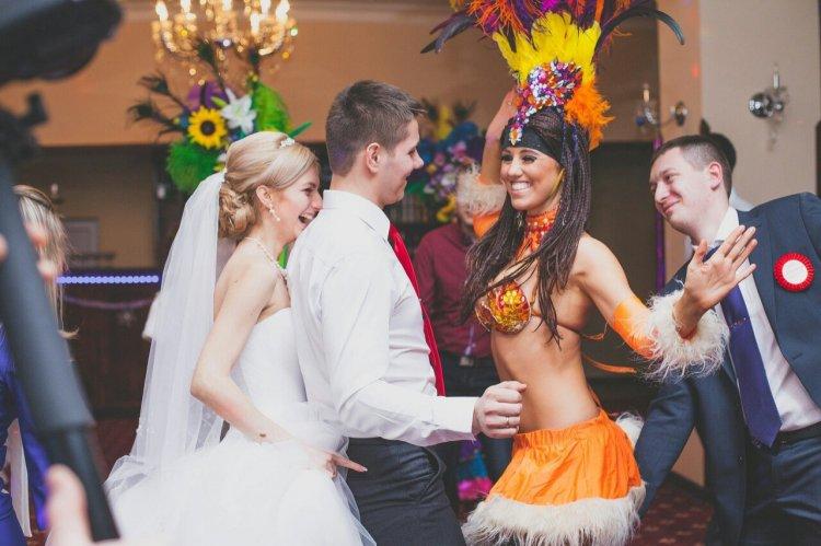 Танцевальное шоу на свадьбу