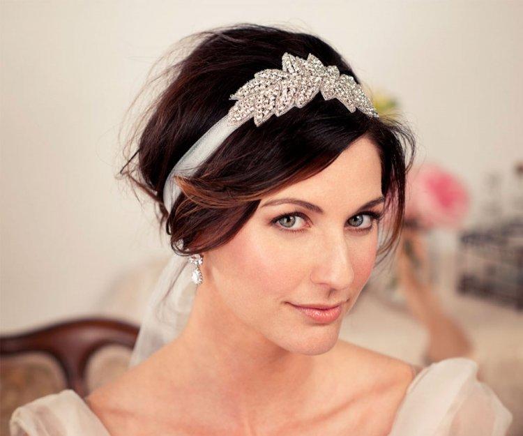 Красивая свадебная причёска