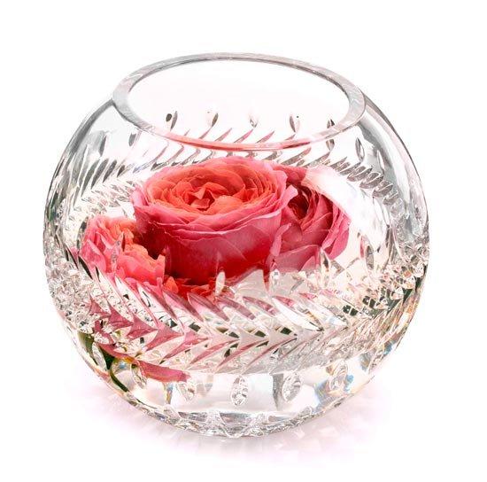 Кругая ваза для цветов