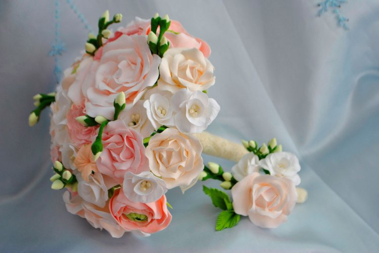 Букеты дублеры на свадьбу своими руками 43