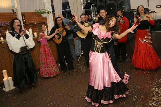 Свадьба в цыганском стиле