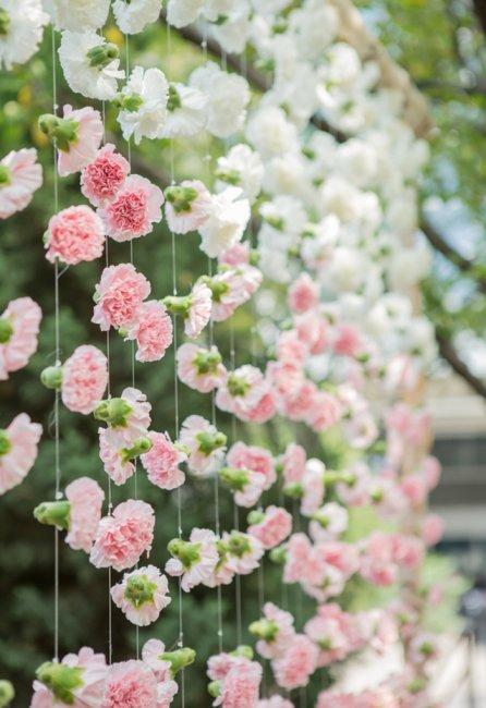 Бумажные цветы для украшения