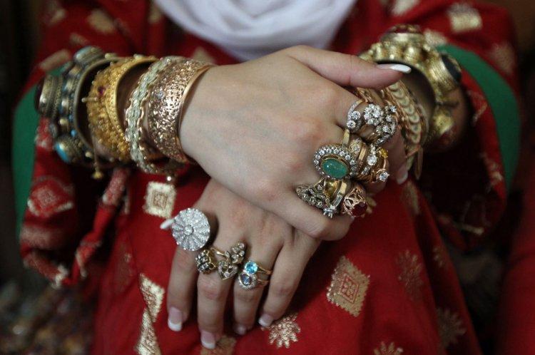 Украшения на невесте