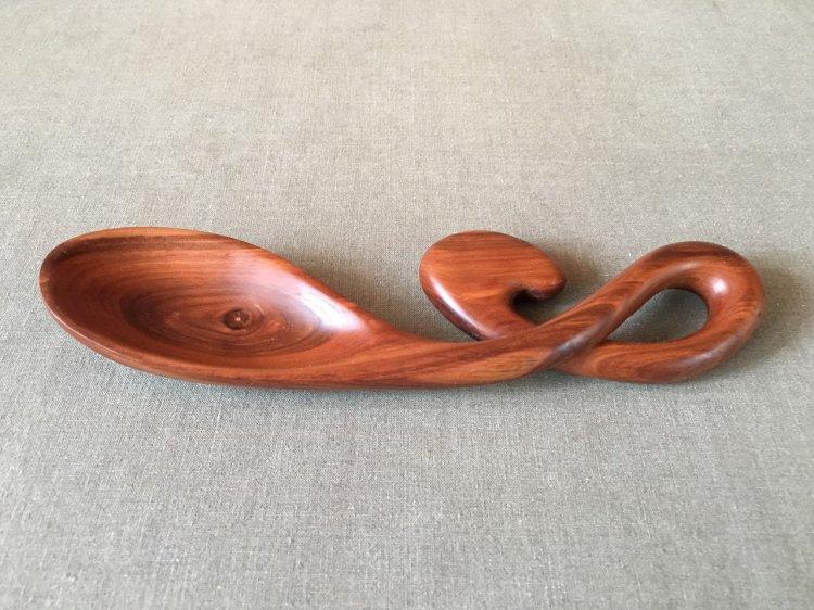Прикольная деревянная ложка в подарок
