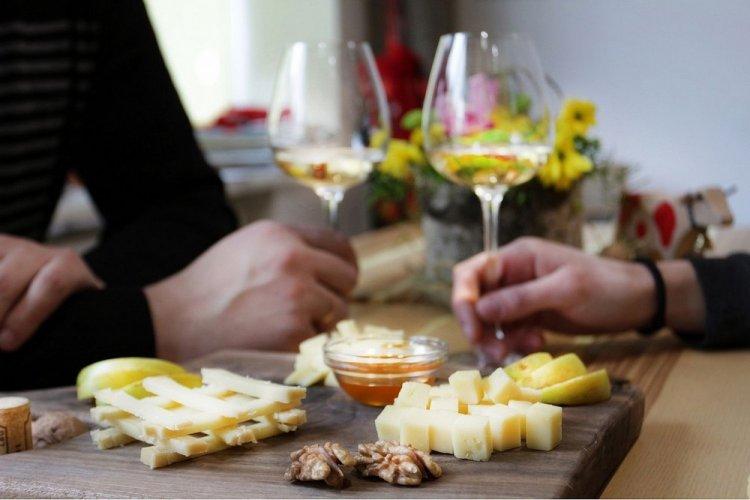 Сырная и винная дегустация