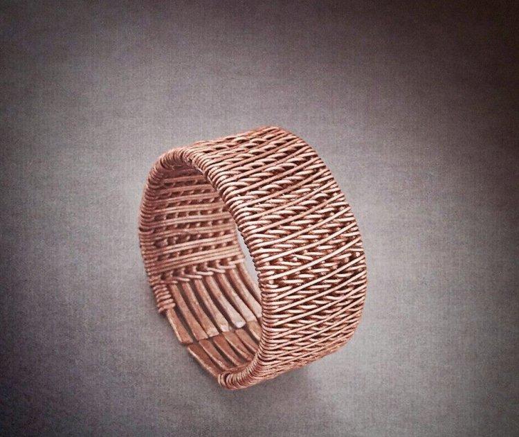 Кольцо - подарок для супруги на медную свадьбу