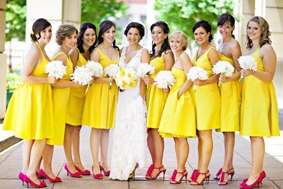 Желтая-желтая свадьба