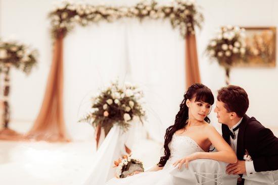 Тематическая шоколадная свадьба