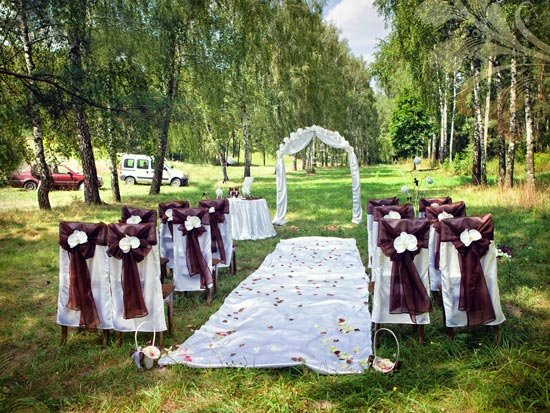 Сладкая шоколадная свадьба