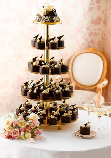 Классика шоколадной свадьбы