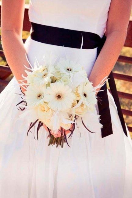 Цветы шоколадной свадьбы