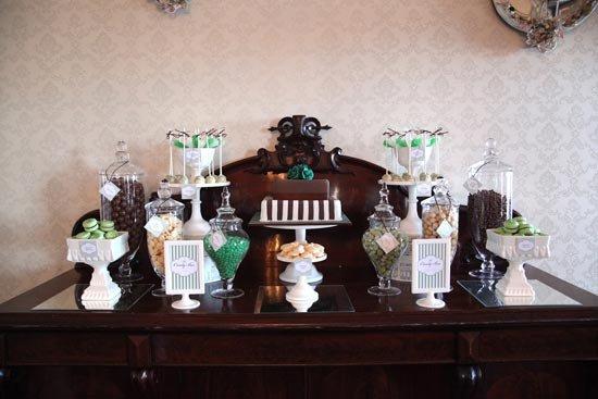 Декор шоколадной свадьбы