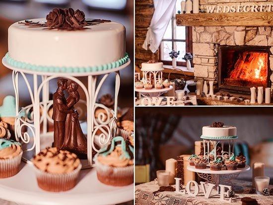 Нюансы оформления шоколадной свадьбы