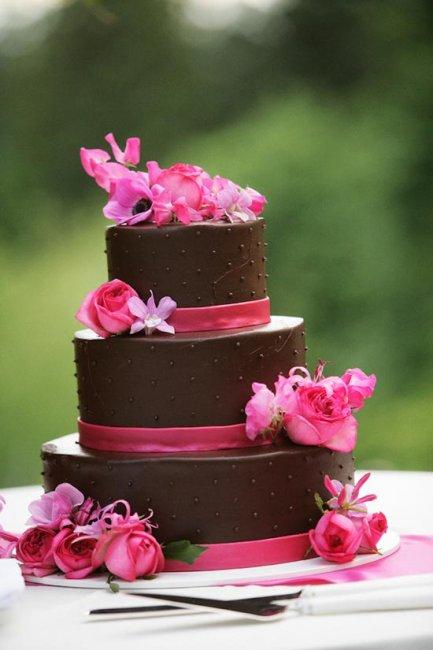 Контрастные нюансы шоколадной свадьбы