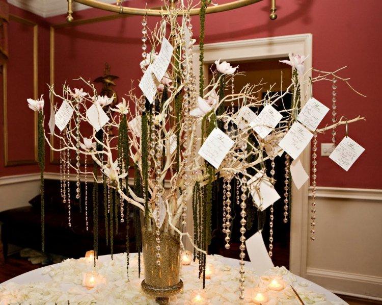 Дерево пожеланий - оригинальный свадебный аксессуар