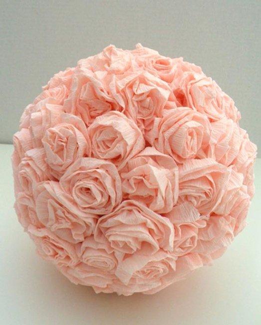 Букет из бумажных роз своими руками фото 83