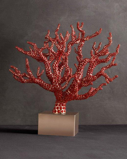 Стильное коралловое дерево