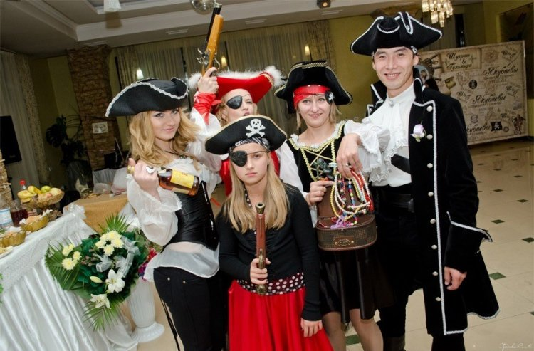 Поздравление пираты на свадьбу 96