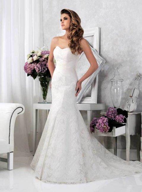 Кружево в образе невесты