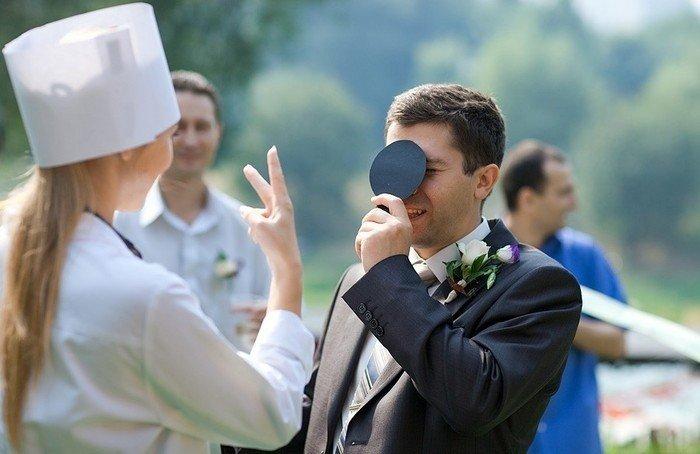 Сценарий выкупа невесты Медицинский осмотр
