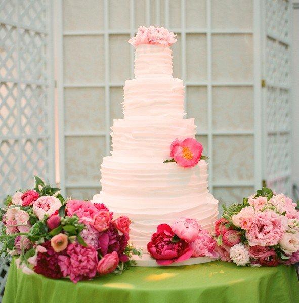 Торт необычный декор