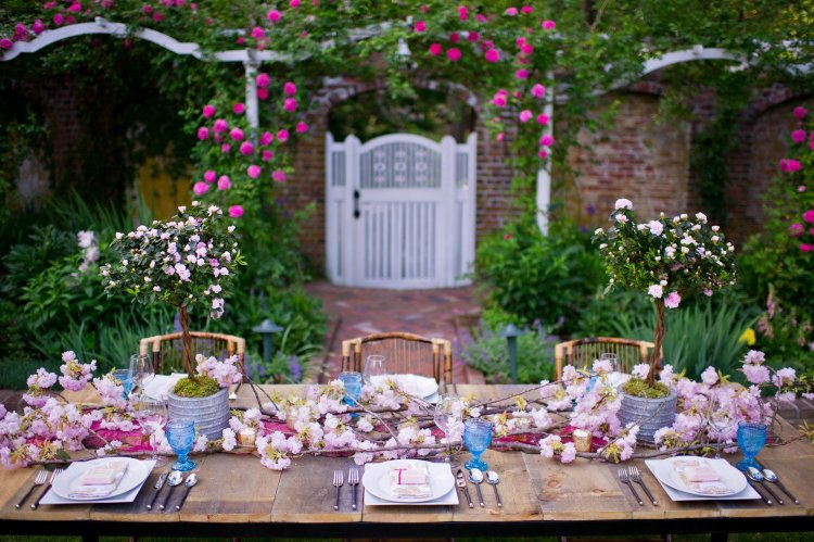 Бохо стиль в декоре свадьбе