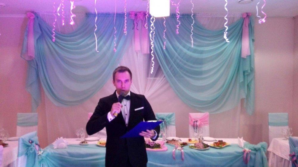 Ведущая для поздравления на свадьбе 393