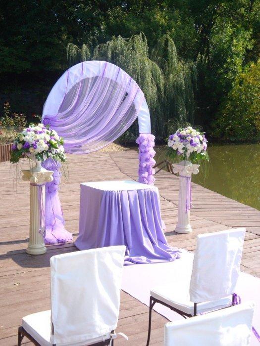 Как украсить свадебную арку своими руками