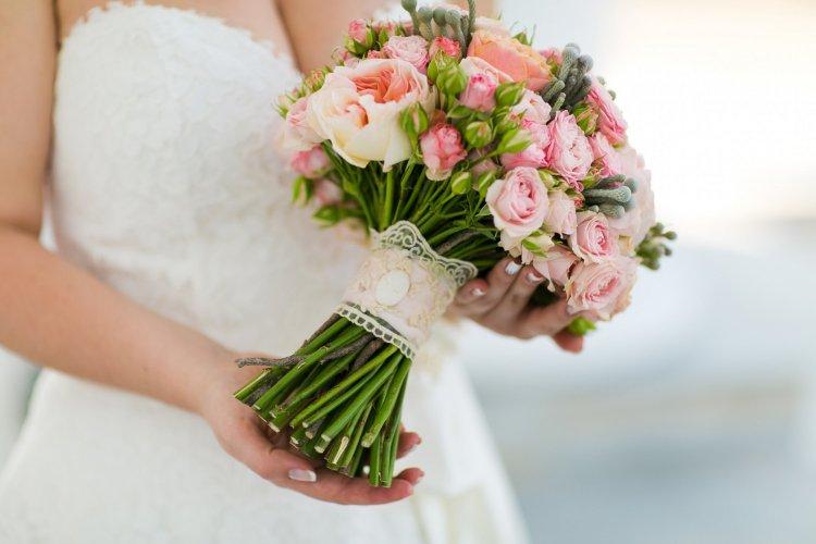 Букет для тематической свадьбы