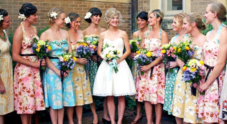 Стильные подружки невесты