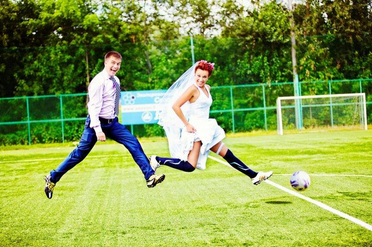 Спортивные молодожёны