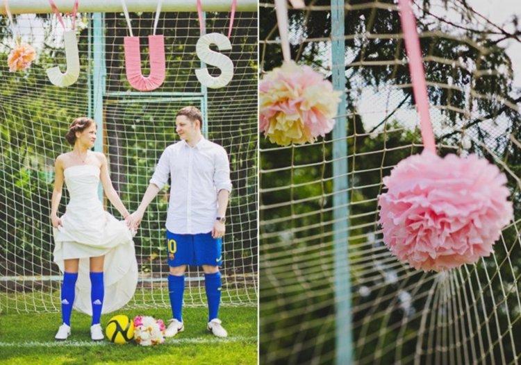 Спортивная свадьба - оригинальное решение