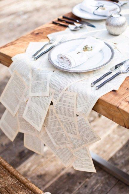 Литературное оформление столов