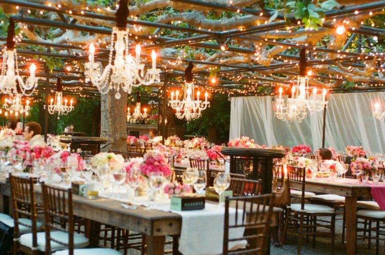 Световой декор свадьбы