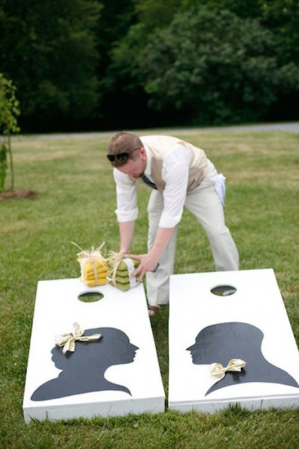Игровая зона на свадьбе