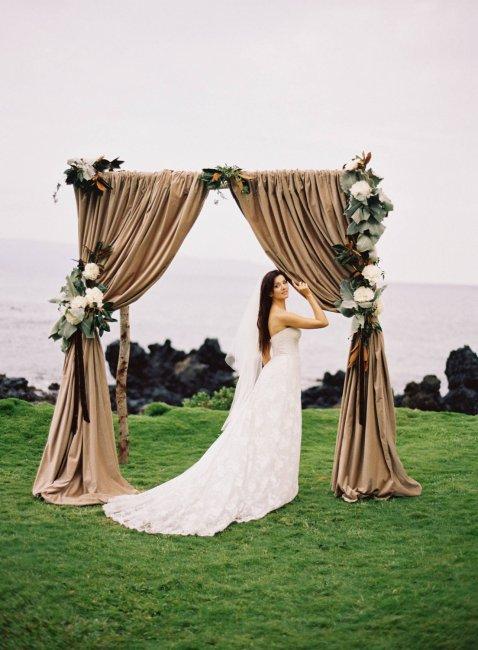 Арка для свадьбы деревянная фото