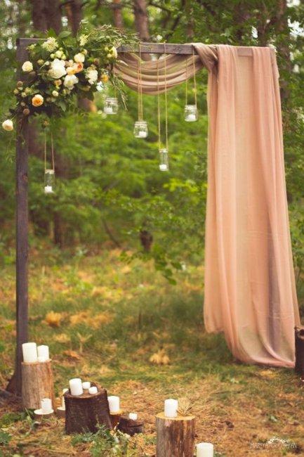 Как сделать арку для свадьбы своими руками 521