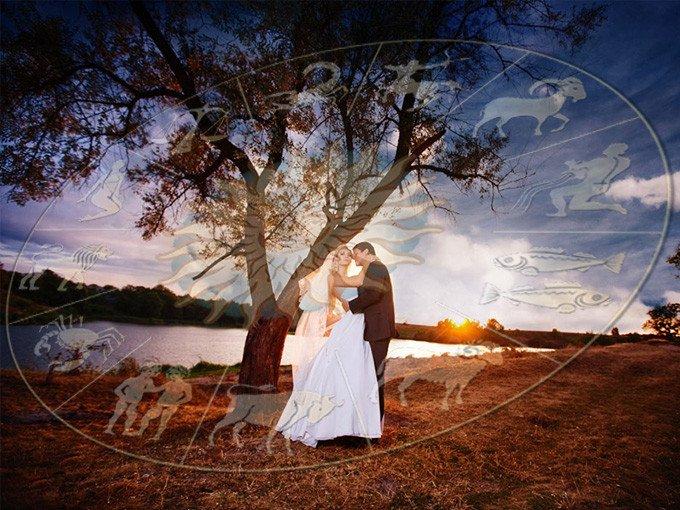 Выбор даты свадьбы по астрологии