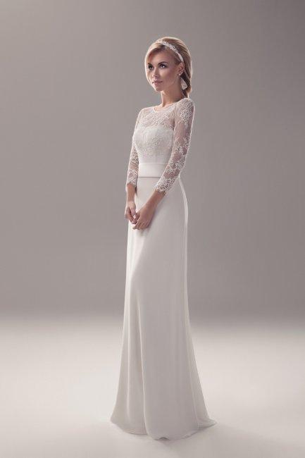 Платье на венчание простое
