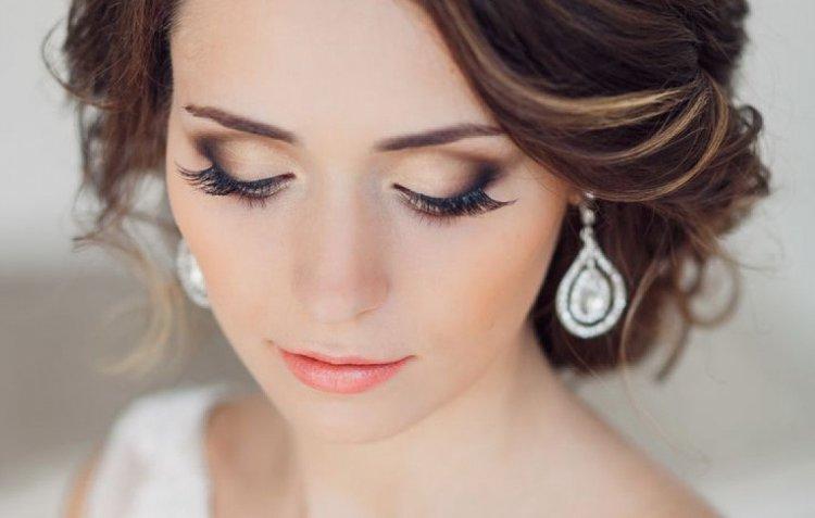 Свадебный макияж для карих глаз: фото, советы брюнеткам, отзывы 40