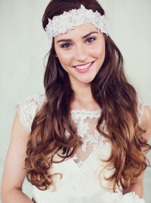 Нежный макияж для невесты с карими глазами