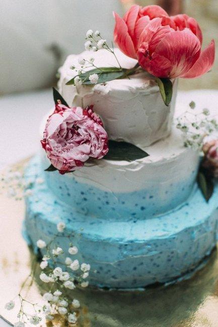 НЕобычный яркий торт