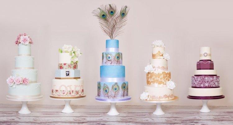 Дизайн свадебных тортов