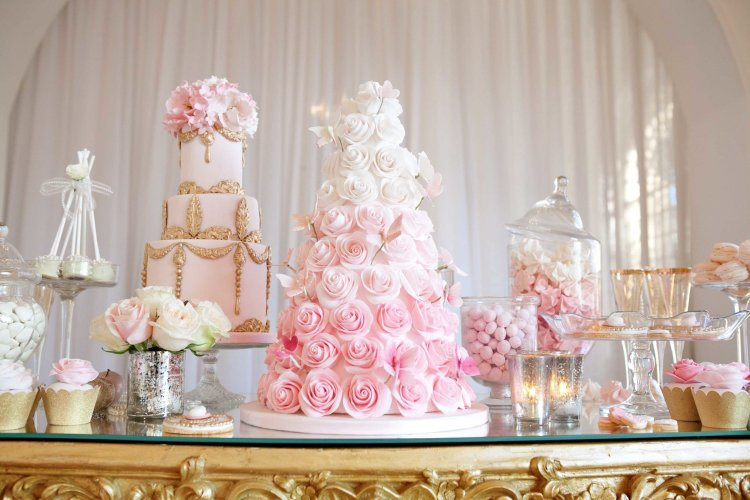 Нежные свадебные торты