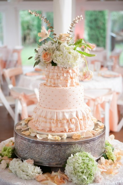Цветочный топпер для торта